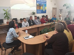 Training workshop for unemployed youth at the Rivne district employment center