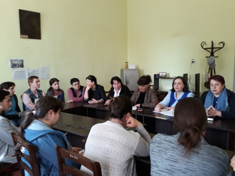 PH International | | Students in Tskemliskhidi supported the